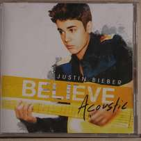 Justin Bieber Believe Acoustic CD for sal