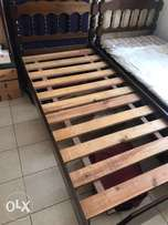 4 single beds (lamu wood) size : 3ft x 6ft