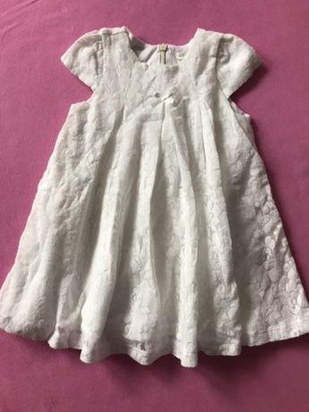 Nowa biała koronkowa sukienka Benetton roz 68 Warszawa Praga