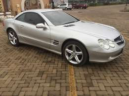 mercides benz sl500 convertible (trade in accepted)