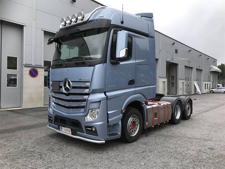 Mercedes-Benz Actros 2548 Ls/6x2/2 Nla - 2014