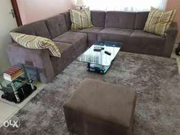 Unique imported 7seater sofa with a puff+carpet free at a good price