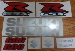 2008 K8 fairing decal set - All colour options