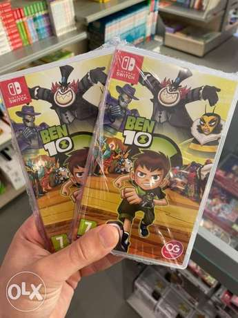 Ben 10 Nintendo Switch Game (New!)
