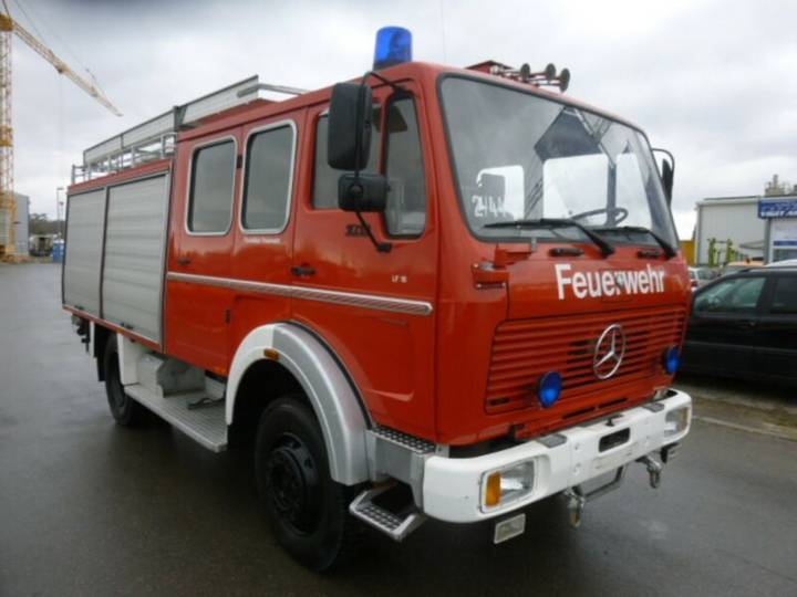Mercedes-Benz 1019AF*LF16 BACHERT*FEUERWEHR*20.000KM*4x4ALLRAD - 1981
