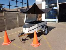 Jurgens Impi Trailer - Excellent Condition with Canvas Canopy
