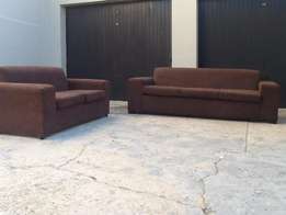 two piece lounge suite