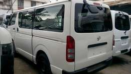 Manual Diesel Toyota Hiace selling at an offer