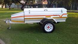 Venter Super 6 trailer with Tailgate and Lined Bak