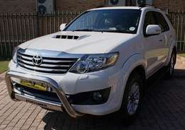 2013 TOYOTA Fortuner 3.0D-4D 4X4