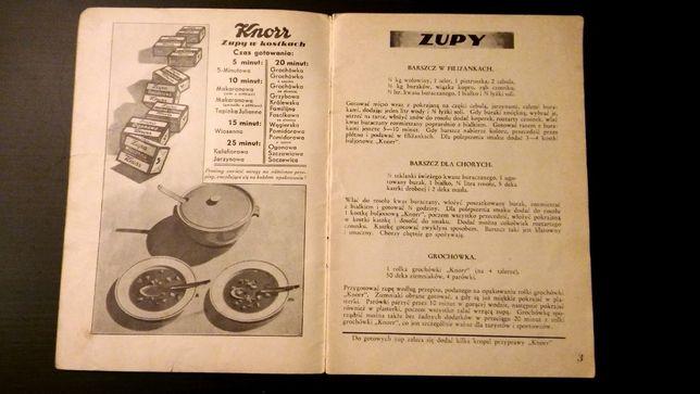 Kuchnia Polska Książka Kucharska Stare Przepisy Pieczenie