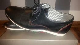 ca0720a9a8b6a Eleganckie buty męskie Gino Lanetti rozmiar 45