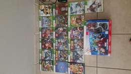 Xbox 360 bundle with 19 games and disney infinity