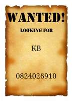KB wanted