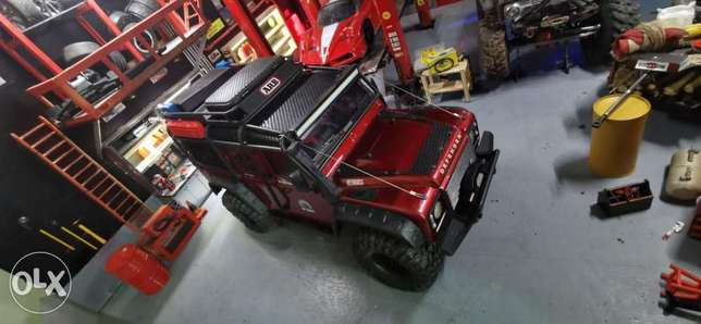 Traxxass trx4 full upgrades with light system and led bar and alot of