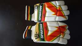 Spartan Cricket Gloves and Cricket Pads