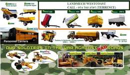 Agricultural Trailers and Graders available directly from factory