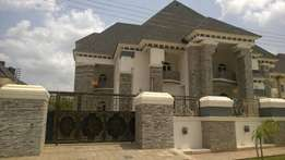 Seven bedroom mansion at guzape