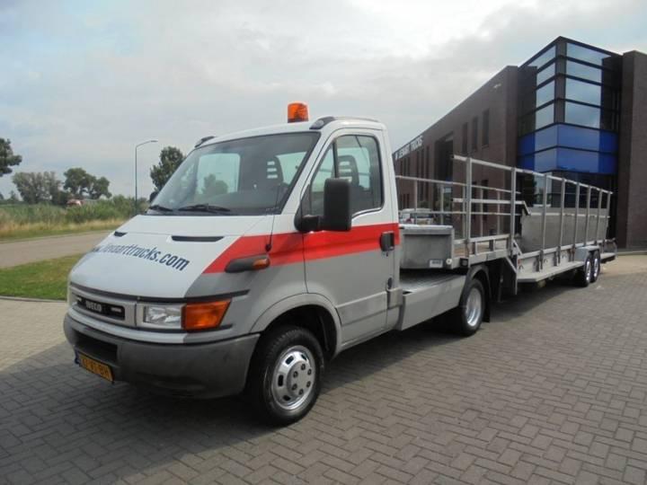 Iveco 40C / BE Combi / Veldhuizen Transporter Trailer / - 2001