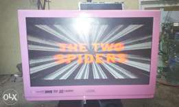 Logic lcd 19inchis wall tv with inbuilt DVD working perfect