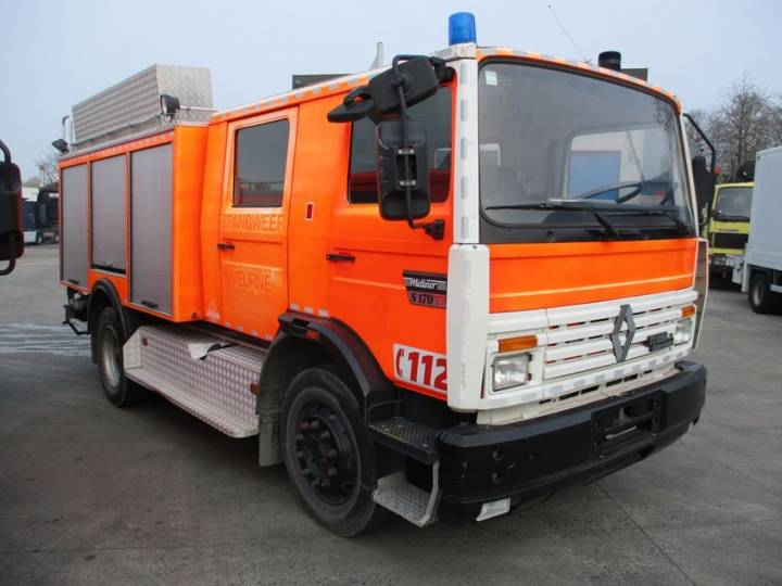 Renault S 170 Feuerwehr / Fire Department / Pompiers ZIEGLER - 1991