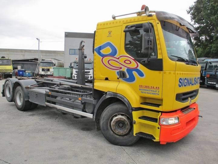 Renault 385 Premium 6X2 Containerhook - 1998