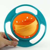 Non Spill Rotating Bowl For Children