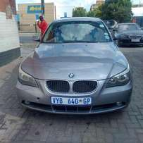 2007 bmw 520i auto , in good condition for R79,000.00