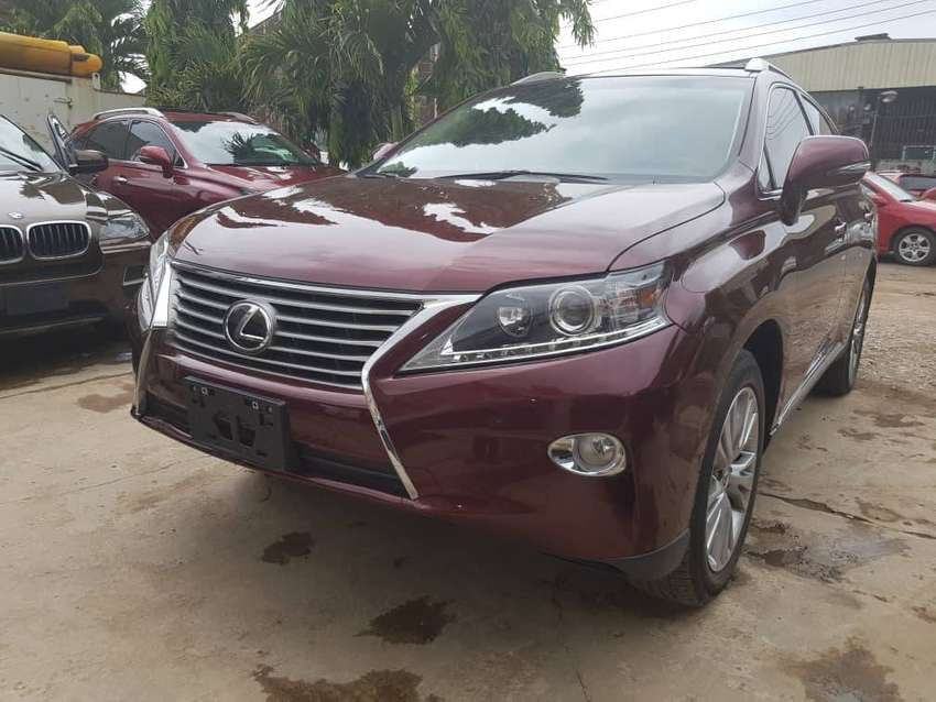 2014 Lexus Rx 350 Full Option Wine Colour Cars 1050804822 Olx