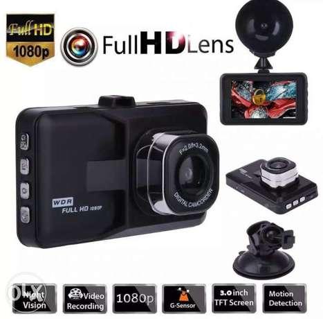 3 Inch Full HD 1080P Car Driving Recorder Vehicle Camera DVR dual lens