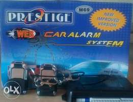 Prestige web car alarm, free installation and certificate within Nrb.