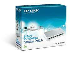 To link 8port 10/100Mbps desktop switch