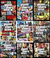 complete GTA collection(1-5) PC game + delivery