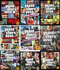 complete GTA collection(1-5) PC game + delivery Nairobi CBD - image 1