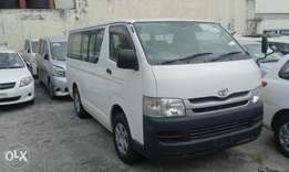 New year offer hiace manual diesel deposit 1.6 kcp