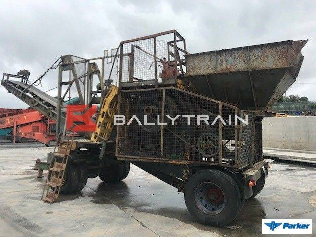 Parker 36 X 12 Mobile Jaw Crusher €25,000
