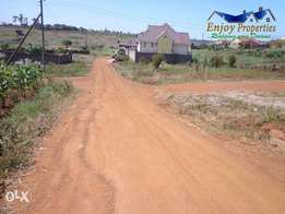 Thika 50x100 plot For Sale in Ngoingwa