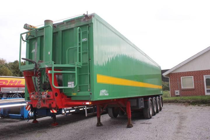 AMT TK400 4 akslet 60 m3 tiptrailer med Ecotop - 2012