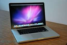 Macbook Pro core i5 4gb ram 500gb hard disk 2.4ghz 13'' free delivery