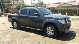 2005 Nissan Navara Double cab 6 speed manual 2500cc turbo charged(KBR)
