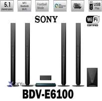 Sony BDV-E6100 Blu-ray Home Cinema System with NFC and Bluetooth -