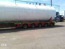 2nos 33 Metric tonnes gas tank and 60 Metric tonnes gas tank for sale.