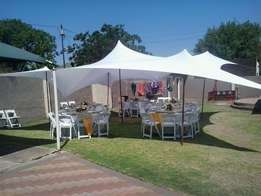marquees,stretch tent,ottomans,tiffany chairs,wimbledo chairs vip toil