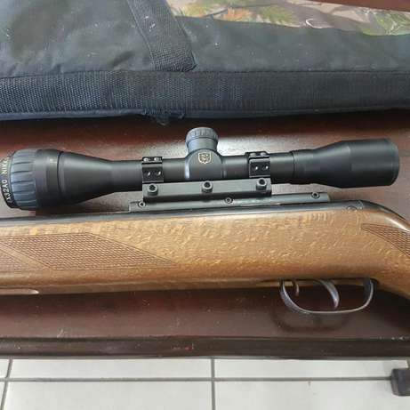 Air Rifle Gamo 440 and Nikko Sterling Scope and bag Pietersburg North - image 3