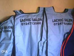 Need branding for your dust coats, aprons, overalls and etc.