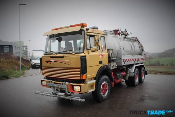 Iveco 260-30 H 6x2 Kanalreiniger/ Strassenreiniger - 1989