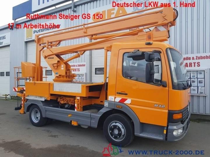 Ruthmann MB 812  Steiger 17m Deutscher LKW 1.Hand - 2000