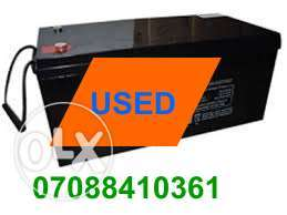 Used Solar inverter Batteries Yaba Lagos