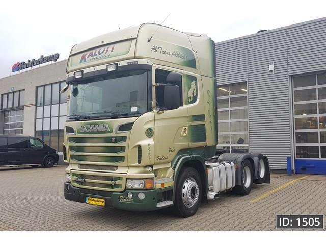 Scania R620 Topline, Euro 5, Intarder - 2012