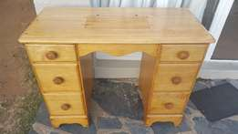 Satinwood Antique Mini Desk